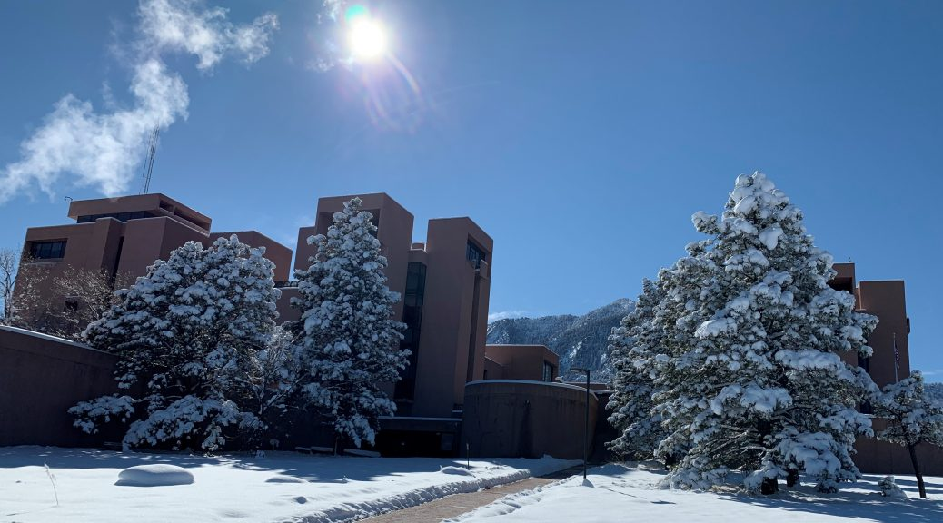 NCAR the day we visited