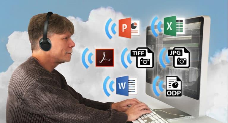 man using Pneuma cloud access tools
