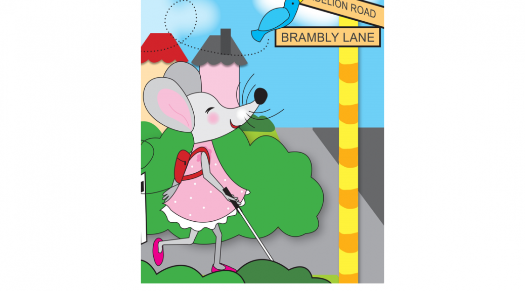 Missy Mouse takes a walk