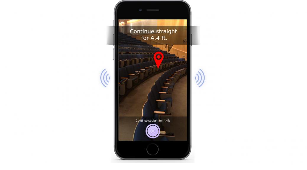 Clew providing navigation feedback